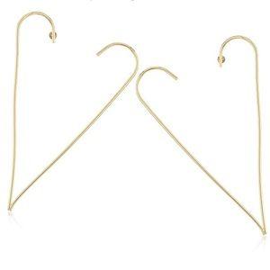 steve madden // oversized open heart post earrings